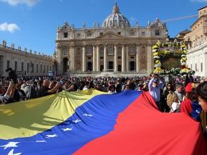 Chinita en el Vaticano