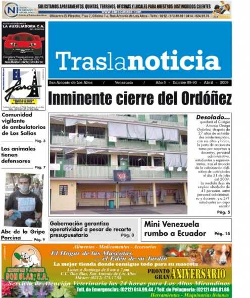 PERIODICO TRAS LA NOTICIA